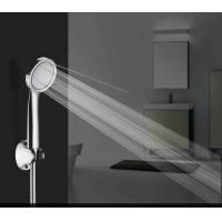 Buy cheap Bathroom Remove Water Saver Shower Head / Modern Rain Shower Head Silver Color from wholesalers