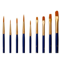 Buy cheap Nickel Plated Brass Ferrule Acrylic Paint Brush Pens from wholesalers