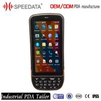Buy cheap Waterproof Handheld Pda Barcode Scanner Touch Screen With 8MP Camera from wholesalers