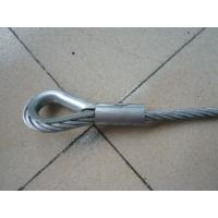 Buy cheap Pressed Wire Rope Slings from wholesalers