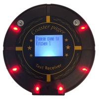 Buy cheap Fast Food Vibrating Restaurant POS  Coaster Pagers Integrated with LED screen from wholesalers