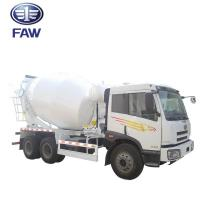 China Small Self - Loading Concrete Mixer Truck JIEFANG FAW J5M 4*2 6*4 on sale