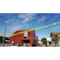 Buy cheap Modular Design Pre-Fabricated  Structural Steel Fabrication Quickly Assembled Construction from wholesalers