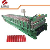 Buy cheap PPGI Steel Wall Panel Roll Forming Machine, Glazed Tile Roll Forming Machine from wholesalers
