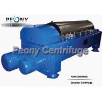 Buy cheap Water Sludge Decanter Centrifuge Decanter Type With PLC Control from wholesalers