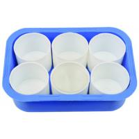 Buy cheap Plastic Brush Washer  Plastic cup and cup set Plastic bowl painting tools accessoires from wholesalers