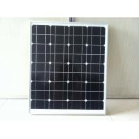 Buy cheap High efficiency pv module 12v 50w solar panel mono from wholesalers