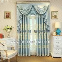 Buy cheap European Style Home Textile Blackout Jacquard Embroidery Window Curtain from wholesalers