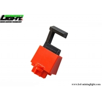 Buy cheap Rugged ABS Plastic 15mm Circuit Breaker Lockout 23mm Handle from wholesalers