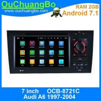 Buy cheap Ouchuangbo car multimedia gps system for Audi A6 1997-2004 with 1080P video wifi multiple amplifiers sound ROM 16GB from wholesalers