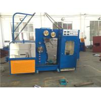 Buy cheap 15KW High Speed Wire Drawing Machine , Copper Wire Making Machine With Annealer from wholesalers