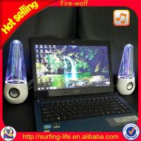 China led water fountain speaker  mini dancing water speaker on sale
