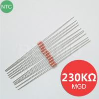 Buy cheap MGD18 230K 1% 4130 4537 MF58 diode Glass NTC Thermal Variable resistor+thermistor of temperature sensor in solar water h from wholesalers