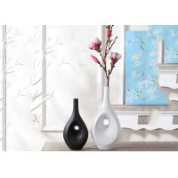 Buy cheap Hotel / House Polyresin Decoration Crafts , Desk Ornament Polished Vases from wholesalers