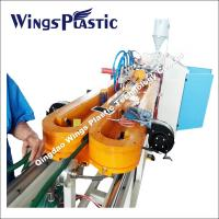 Buy cheap Plastic Extrusion Machine For PE PVC PA PP Flexible Conduits from wholesalers