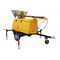 Buy cheap Single Phase Mobile Light Tower / generator light tower 3000rpm / 3600 rpm from wholesalers