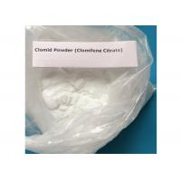Buy cheap Effective And Positive Anti Estrogen Supplements Clomifene Citrate Clomid Powder CAS 50-41-9 from wholesalers