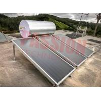 Buy cheap Blue Titanium Collector Flat Plate Solar Water Heater , Solar Powered Pool Heater from wholesalers
