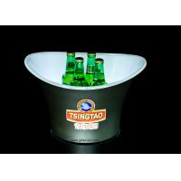 Buy cheap Customized Plastic Large Capacity Ice Bucket for Beer from wholesalers