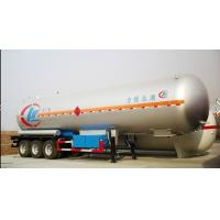 Buy cheap Factory sale best price customized 20tons lpg gas trailer, high quality good price bulk road transported lpg gas tank from wholesalers