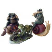 Buy cheap Garden Decor, Polyresin Frog Figurines from wholesalers