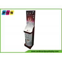 Buy cheap Creative Design Cardboard Retail Display , Cosmetic Point Of Purchase Product Display Stands FL195 from wholesalers