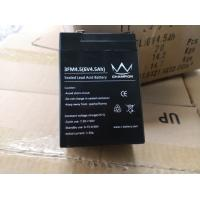 Buy cheap 6V 4.5AH Sealed Lead Acid Battery For Guide Lights / Security System from wholesalers