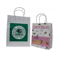Buy cheap Colorful Paper Carrier Bag Recycle With Twist Paper Handles from wholesalers