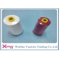Buy cheap 20/2/3/4 High Tenacity 100% Polyester Sewing Thread  White Red from wholesalers