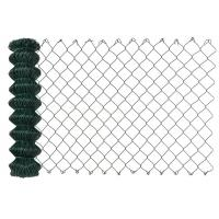 Buy cheap Green Color Vinyl Coated Chain Link Fence For Garden All Opening Size from wholesalers