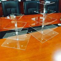 Buy cheap Supermarket acrylic cake rack candy acrylic display counter top food from wholesalers