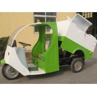 Buy cheap Single Seat Dual 1000W Green Power Utility Electric Vehicles of Garbage Vehicle for Cleaning from wholesalers