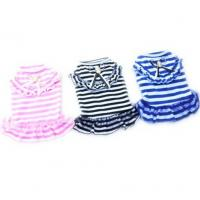 Buy cheap Dog Cat Puppy Clothes Pet Apparel Striped Princess Bowtie Dress product