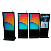 Buy cheap Full Hd Floor Standing LCD Advertising Display 1080P 43 Inch Energy Saving from wholesalers