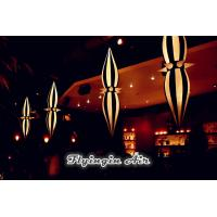 Buy cheap Customized Decorative Party Light, Hanging Inflatable Cone for Sale product