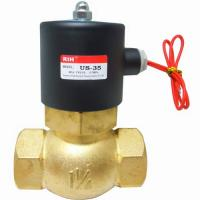 Buy cheap 2W Series Solenoid valve 10Bar, Water, Oil, Air from wholesalers