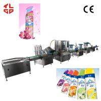 Buy cheap Fully Automatic Aerosol Spray Filling Machine for  Air Fresher/ Deodorants from wholesalers
