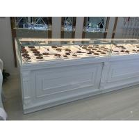 Buy cheap White Color Jewelry Store Showcases Jewellery Display Cabinets OEM / ODM Available from wholesalers