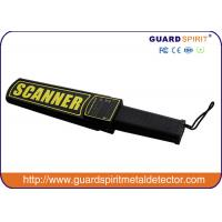 Buy cheap Rechargeable Battery  Hand Held Security Body Scanner For Police , Government , Hotel from wholesalers
