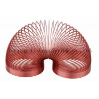Buy cheap Red Color Slinky Walking Spring Toy , Metal Slinky Toy Educational Charts product