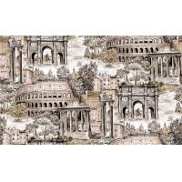 Buy cheap Waterproof Pvc Vinyl Deep Embossed Wallpaper Washable With City Pattern product