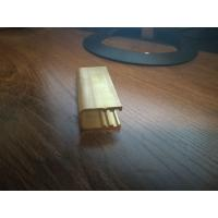 Buy cheap Brass U-section Shapes , Brass U Channel , Extrusion Brass C Channel from wholesalers