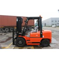 Buy cheap Counter Balance Diesel Forklift Truck With ISUZU C240 Engine Pneumatic Tire from wholesalers