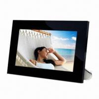 Buy cheap 12-inch Digital Picture Frame, Digital Panel, Slideshow and Watch Movies product