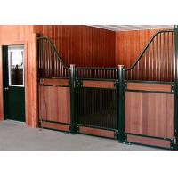 Buy cheap 3m 3.6m 3.8m 4m Horse Stable Partitions / Prefab Horse Stalls With Bamboo Infill from wholesalers