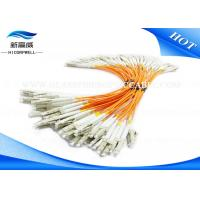 Buy cheap LC UPC G652 G657 Fiber Optical Pigtail , OM1 OM2 OM3 SC Fiber Optic Patch Cord from wholesalers