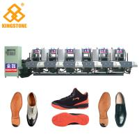 Buy cheap Energy Saving Static Rubber Sole Making Machine Mono Color 5.3*3.5*2.6m from wholesalers