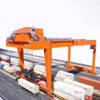 Buy cheap Port Gantry Crane To Lift Shipping Container 20 ' 40 ' Rubber Tyred 1 Year Warranty from wholesalers