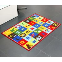 Buy cheap Custom Comfortable Children Educational Play Mat Nylon Mat With Printing Numbers , Cartoons , Country Roads , Balls from wholesalers