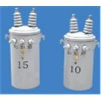 Buy cheap 13.2Gd.Y/7.62kV pole mounted  overhead power distribution transformers, single phase from wholesalers